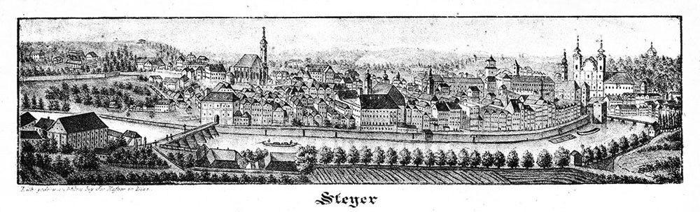Beiträge zur Geschichte der Stadt Steyr und ihrer Umgebung